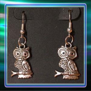 Jewelry - Tibetan Owl Earrings
